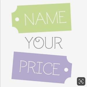 Name your price bundle offer me your price